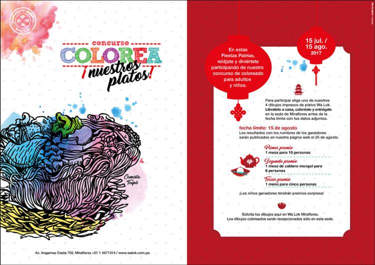 Concurso Colorea